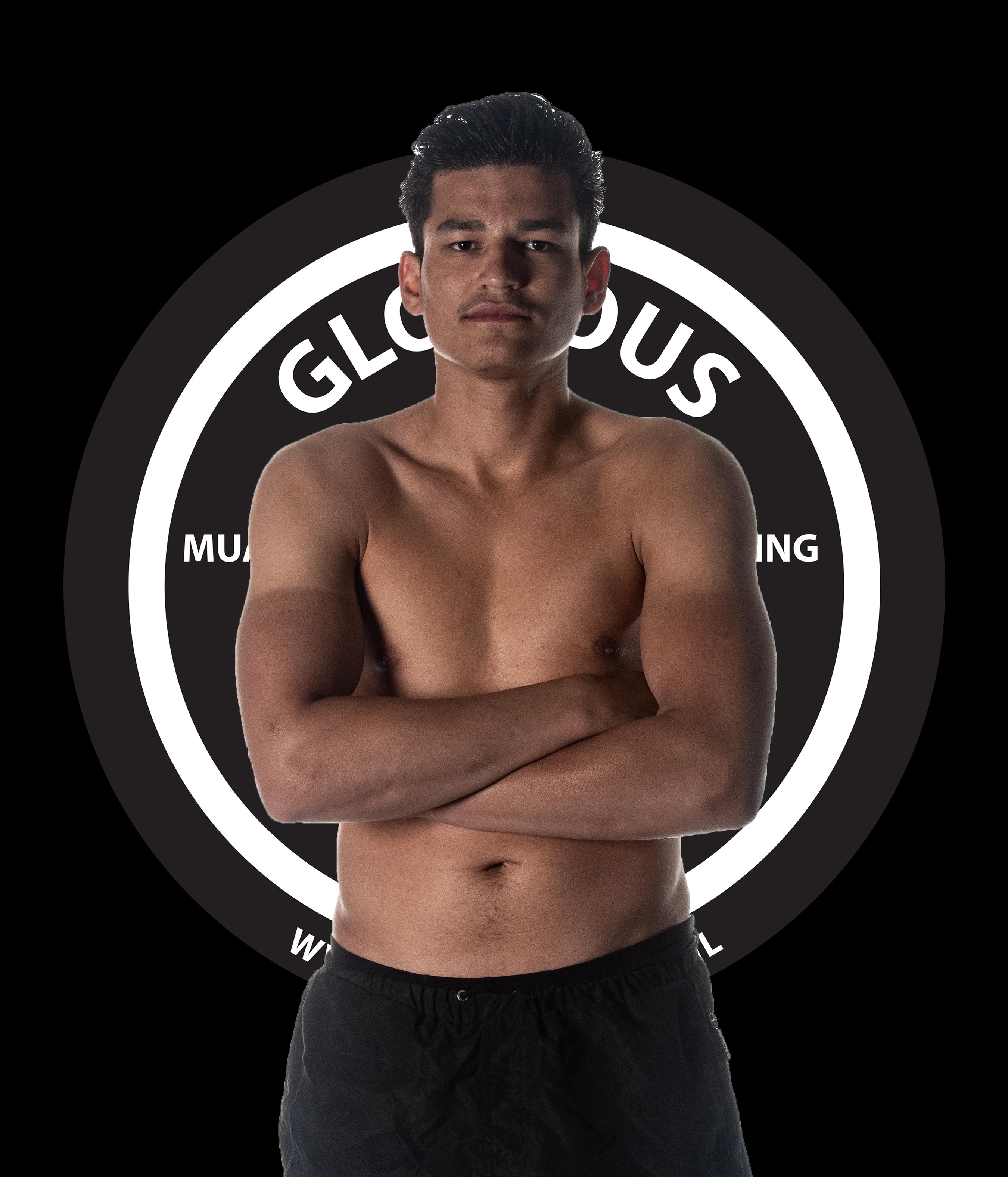 Wesley Ebelties N-klasse (25 jr.) 72 kg.