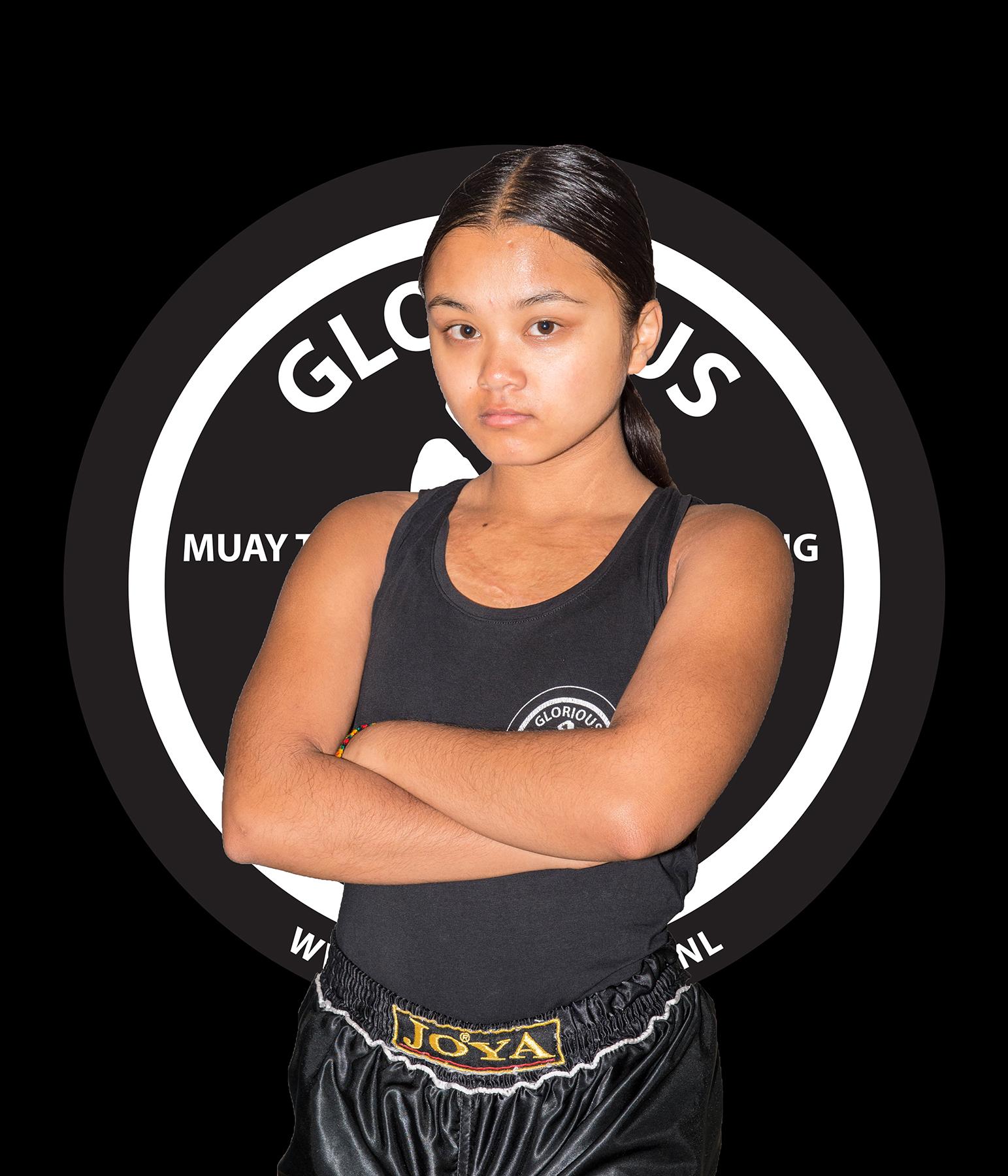 Melati Abrahams N-klasse (16 jr.)  53 kg.